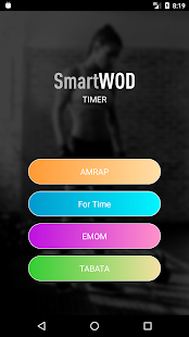 SmartWOD Timer - WOD timer for CrossFit workouts Fitness app screenshot for Android