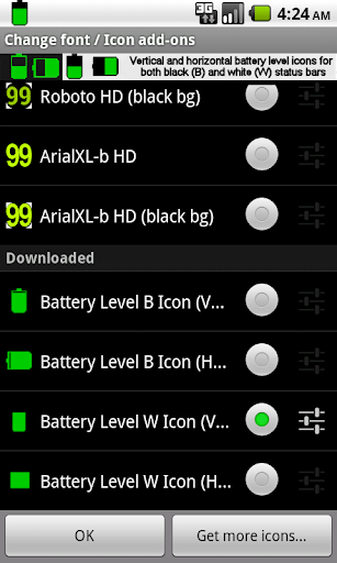 BN Pro Battery Level Icons screenshot 3