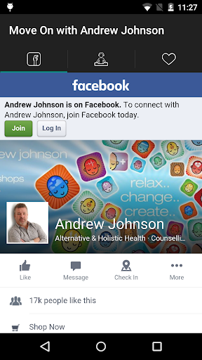 Move On with Andrew Johnson - screenshot