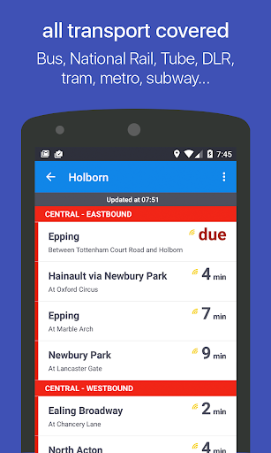 Bristol & Bath Next Bus - screenshot