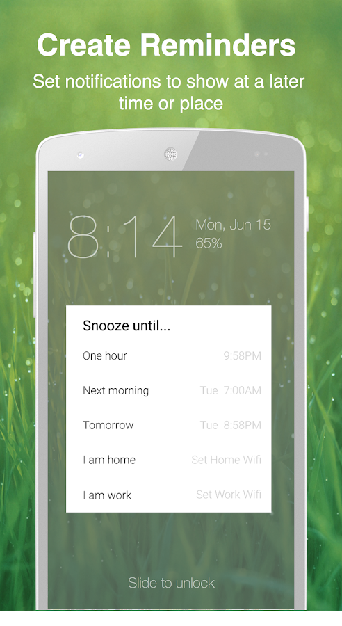Echo Notification Lockscreen Screenshot 6