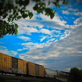 Passing Through by Brant Stevenson - Transportation Trains