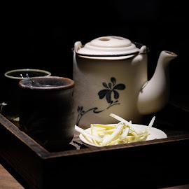 Tea Set by Beh Heng Long - Artistic Objects Cups, Plates & Utensils ( tea )