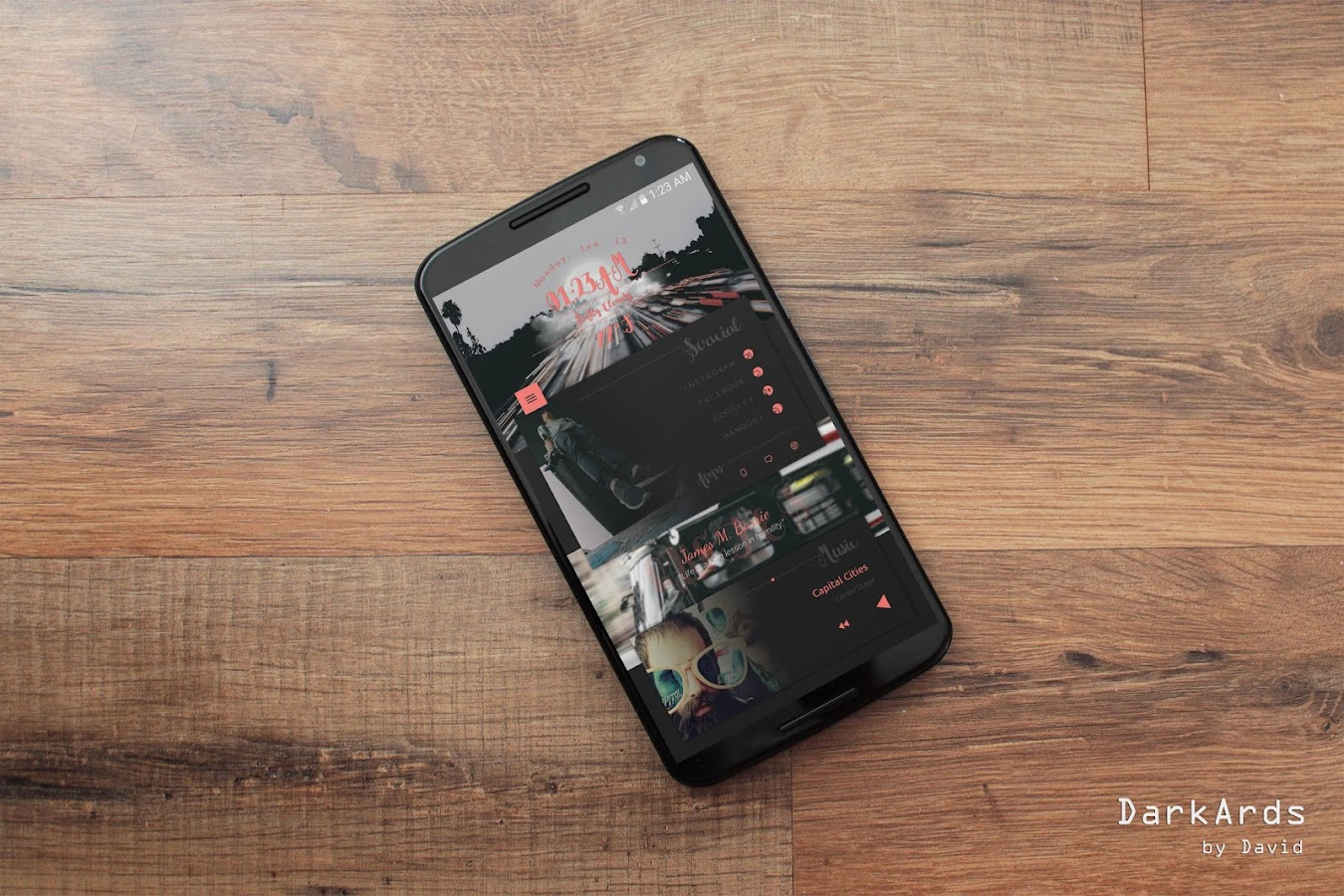 DarkArds for KLWP Screenshot 3