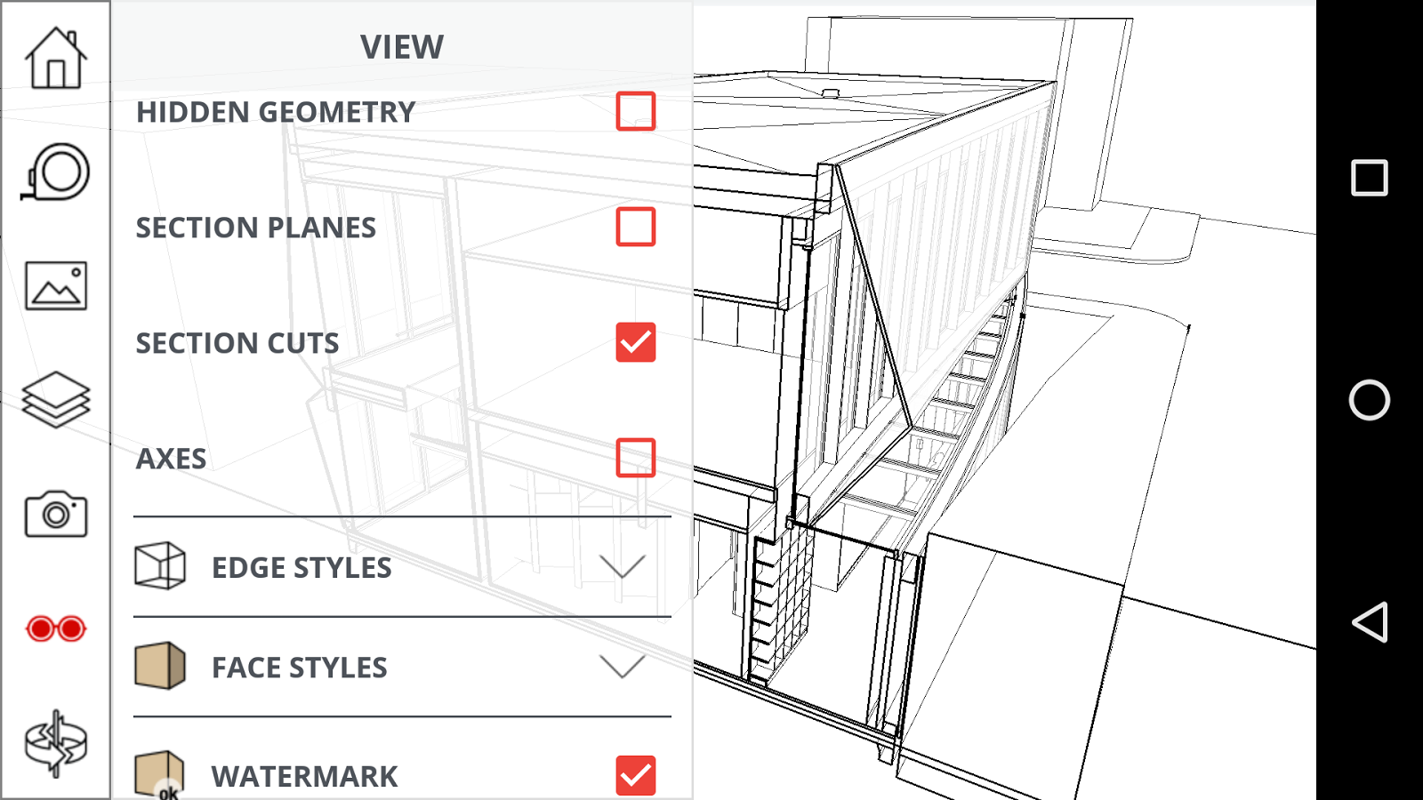 SketchUp Viewer Screenshot 1