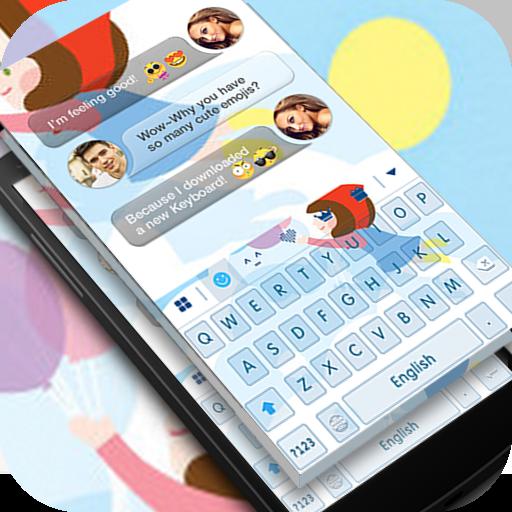 Keyboard -Boto: Little Girl (app)
