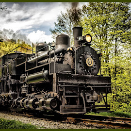 Shay Steam Locomotive - Big 6 by James Eickman - Transportation Trains (  )