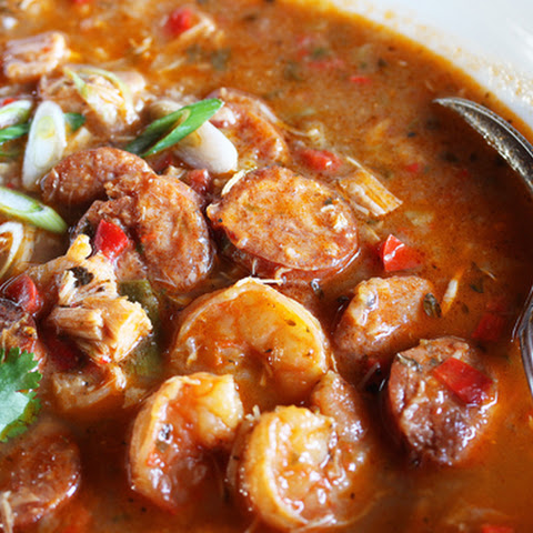 Gumbo ~ Shrimp, Chicken, Andouille Sausage