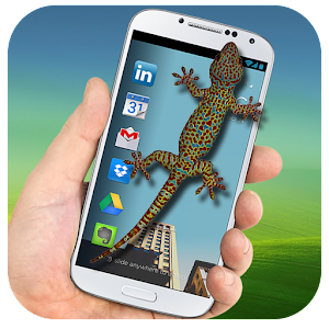 Download Lizard on Phone 3D Funny Joke – Scary Gecko Prank for PC
