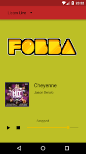 Fobbahotel radio - screenshot