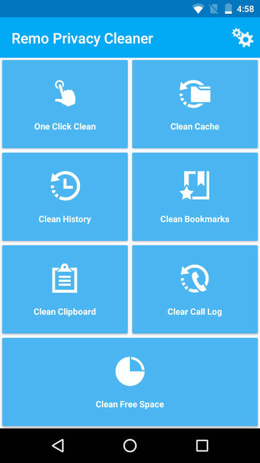 Remo Privacy Cleaner Pro Screenshot 2