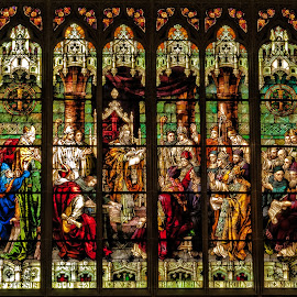 Stained Glass Window by Becky Kempf - Buildings & Architecture Places of Worship ( church, window, stained glass )