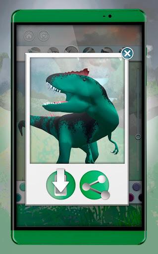 Dinosaurs 3D Coloring Book screenshot 14
