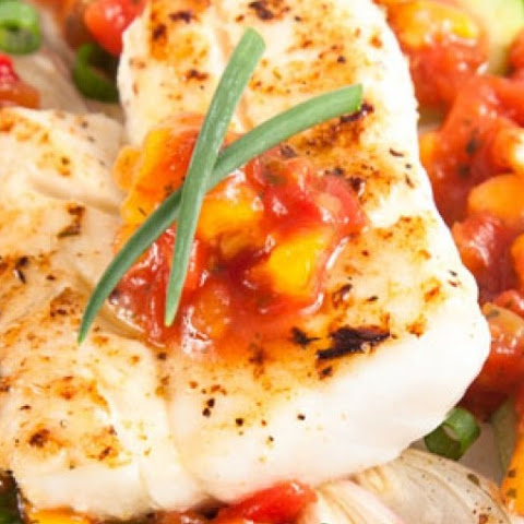 Tilapia & Summer Vegetable Packets