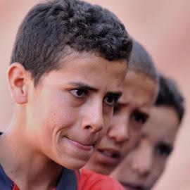 Boys by Tomasz Budziak - Babies & Children Child Portraits ( boys, child portrait, morocco, africa )