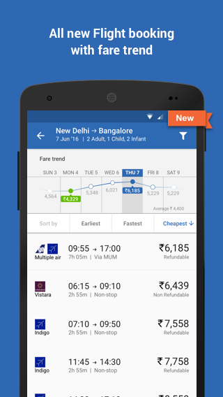 Goibibo: Book Hotel Flight Bus Screenshot 5