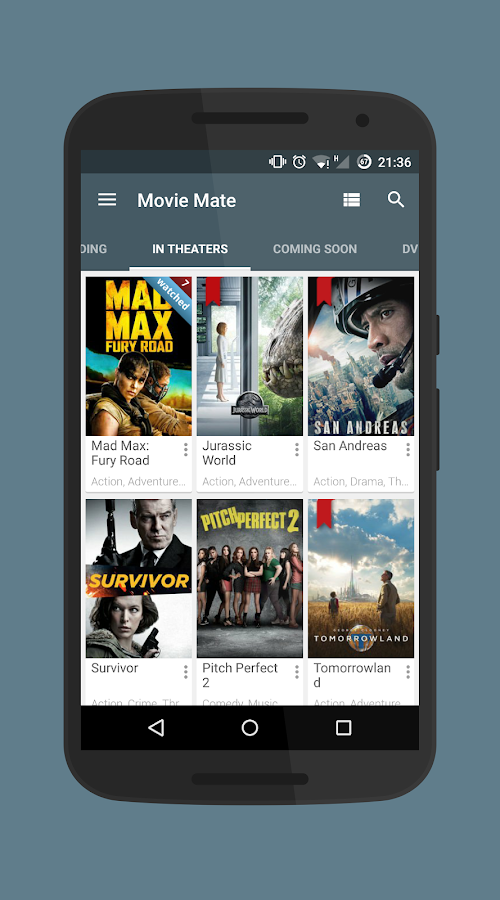 Movie Mate Pro Screenshot 4