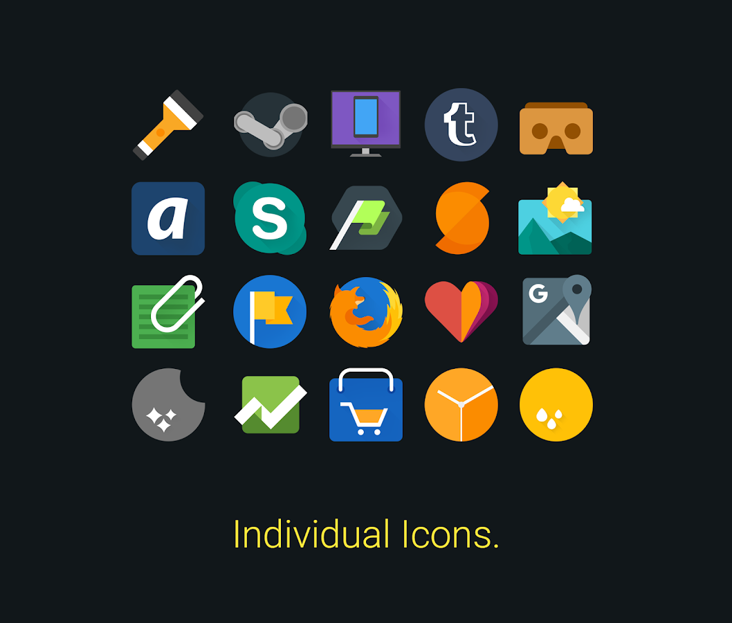 Glim - Icon Pack Screenshot 0