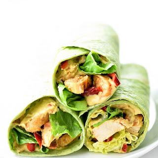 Chicken Hummus Wrap Recipes