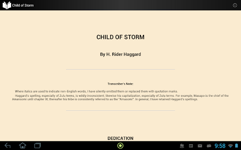 Child of Storm - screenshot