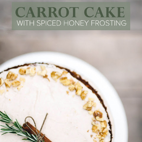 Carrot Cake With Spiced Honey Frosting