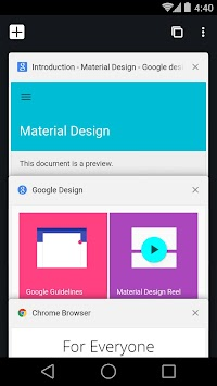 Chrome Canary (nestabilen) APK screenshot thumbnail 1