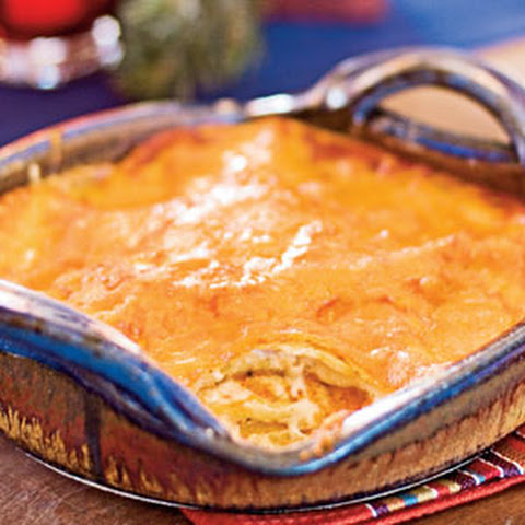 Red Chile-Cheese Enchiladas