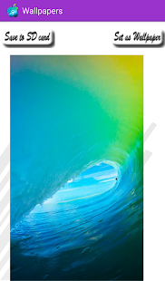 Wallpapers iOS9 - screenshot