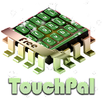 Green candy TouchPal APK Image