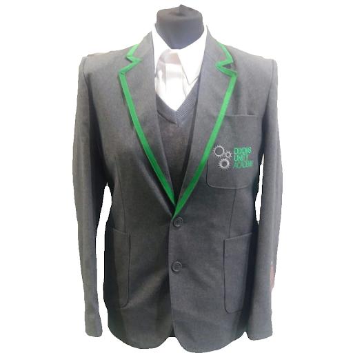 Dixons Unity Academy Boys Grey Blazer