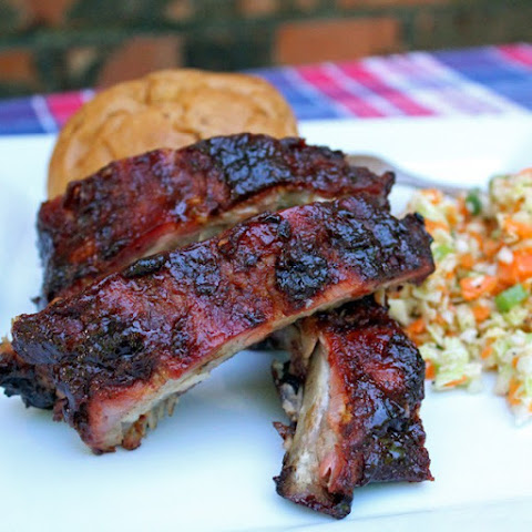 Sweet & spicy Texas BBQ ribs