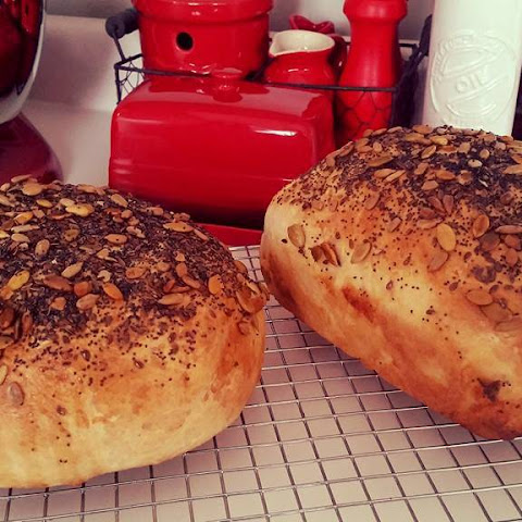 Honey Oats & Seed Bread