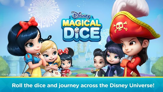 Disney Magical Dice