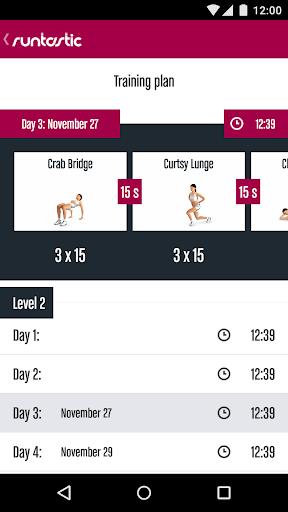 Runtastic Butt Trainer Workout screenshot 4