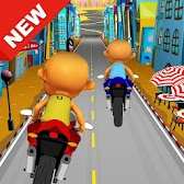 Upin Motor Racing Ipin Game APK icon