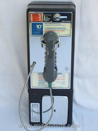 Single Slot Payphones - NJ Bell Haledon 1C loc A-3 1