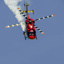 Dhruv by Vijayanand K - Transportation Airplanes ( dhruv, helicopter, flying, flight, flight of helicopter, chopper )
