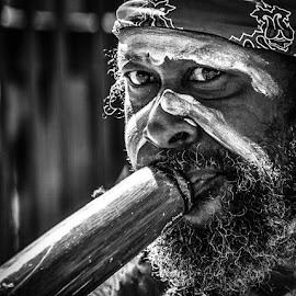 Didgeridoo  by Angela Taya - People Musicians & Entertainers