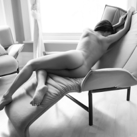 Chair Rear View by Ian Cartwright - Nudes & Boudoir Artistic Nude ( erotic, chair, art nude, nude, buxton, photographer ian cartwright caramel photography, woman, bed, boudoir, naked, bedroom )