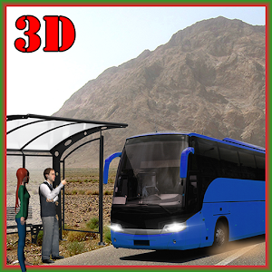 Extreme Hill Bus Driving Sim