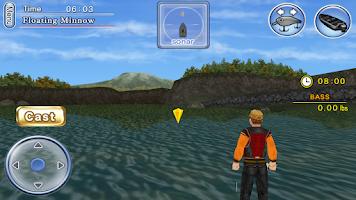 Screenshot of Bass Fishing 3D Free