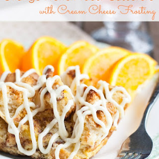 Orange Cream Cheese French Toast Casserole