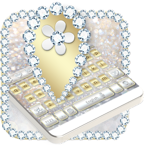 Luxury Gold & Silver Keyboard For PC