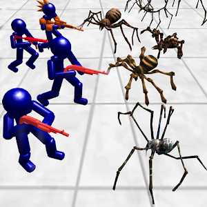 Stickman Spiders Battle Simulator Online PC (Windows / MAC)