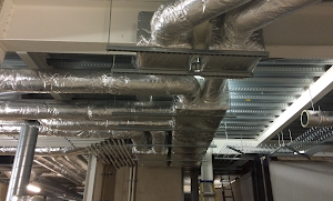 commercial ventilation ducting system