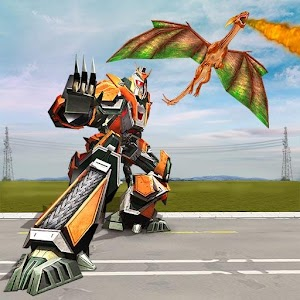 Download Dragon Robot Game – Robot Transforming Dragon For PC Windows and Mac