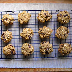 Healthy Happy Oatmeal Cookies