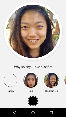 Selfied for Messenger Android App Screenshot