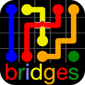 Game Flow Free: Bridges apk for kindle fire