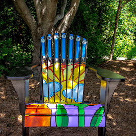 by Jackie Eatinger - Artistic Objects Furniture ( overland park arboretum )